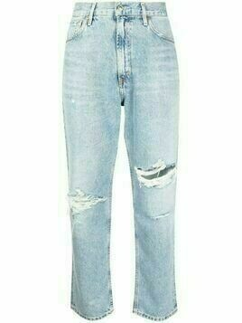 Citizens of Humanity high-waisted straight-leg jeans - Blue