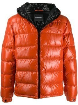 Duvetica hooded padded jacket - Orange