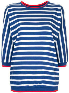 The Upside striped sweatshirt - Blue