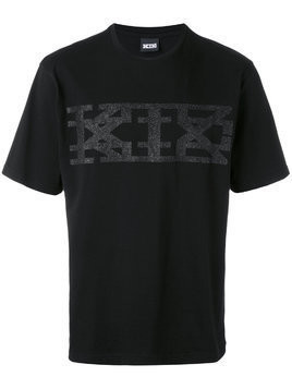 KTZ logo printed T-shirt - Black