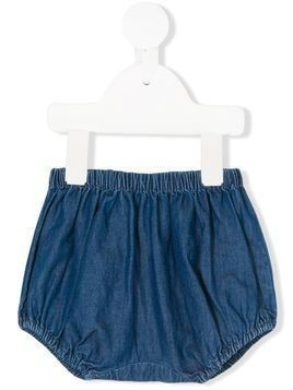 Knot chambray bloomers - Blue