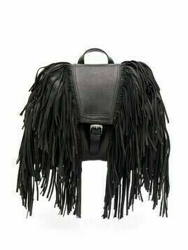 Dsquared2 fringe detail backpack - Black