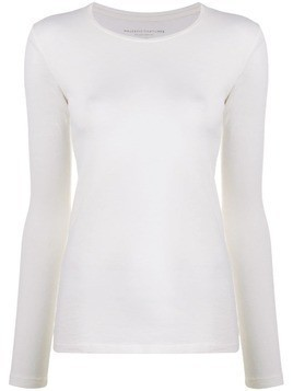Majestic Filatures stretch jersey top - White