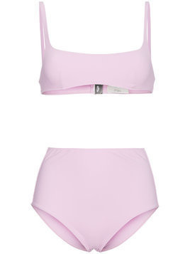 Araks Quinn bikini top and Mallory hipster set - Pink