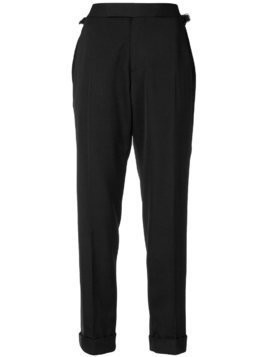 Tom Ford cropped tailored trousers - Black