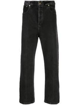 Willy Chavarria Dirty Willy mid-rise straight jeans - Black