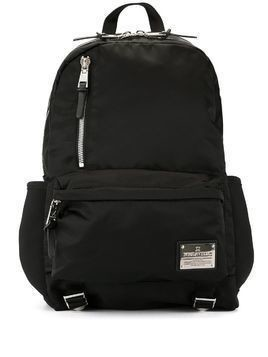 Makavelic shine finish backpack - Black