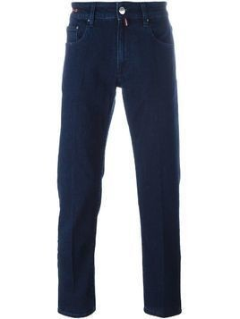 Pt05 dark wash straight jeans - Blue