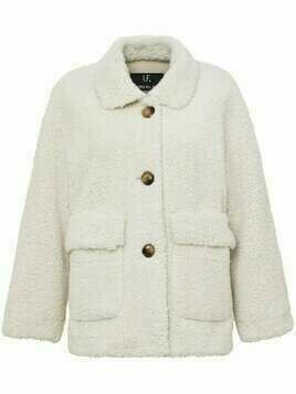 Unreal Fur faux shearling jacket - White