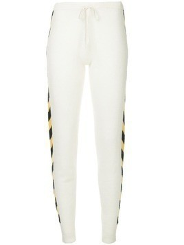 Madeleine Thompson Nix slim fit track pants - White