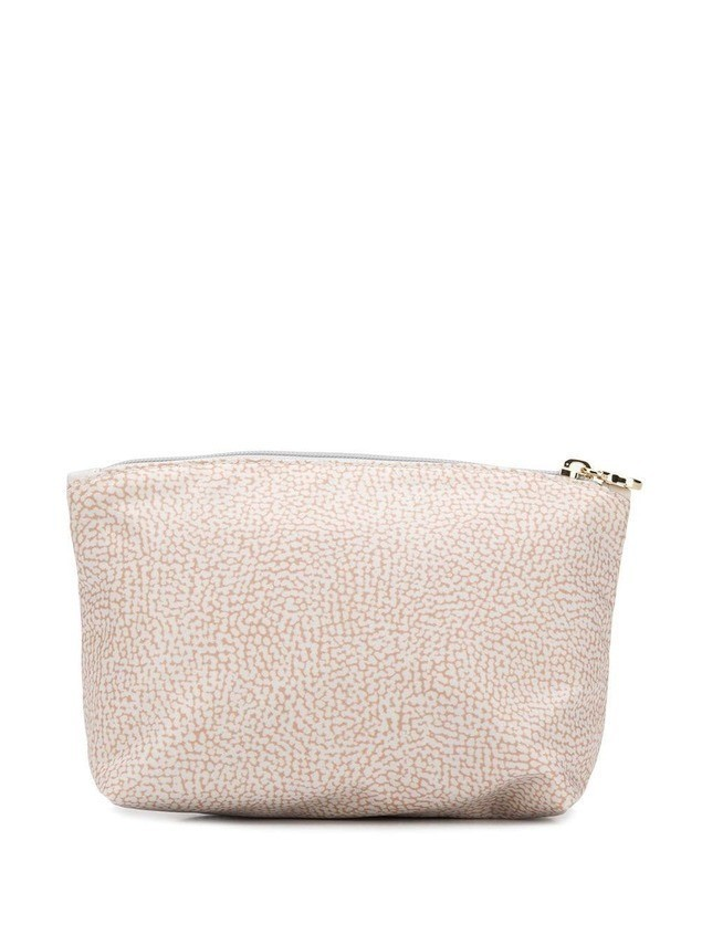 Borbonese classic toiletry bag - Neutrals