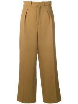 AMI Large Fit Trousers - Brown
