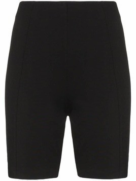 Ninety Percent zipped bicycle shorts - Black