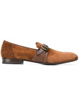 Lidfort buckled loafers - Brown