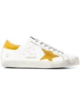 Golden Goose Deluxe Brand Superstar distressed sneakers - White