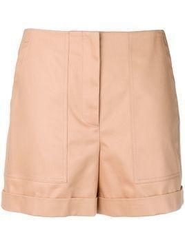 Jil Sander Navy patch pocket shorts - Brown