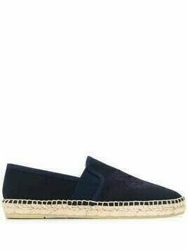 Kenzo Tiger embroidered espadrilles - Blue