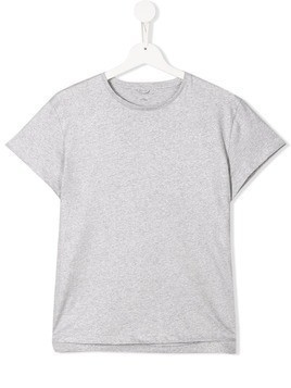 Stella McCartney Kids grey cotton T-shirt