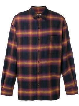 Adaptation checked shirt - Black