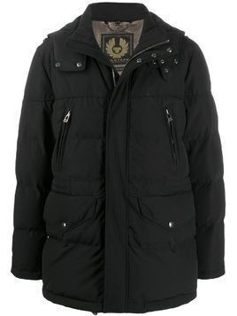 Belstaff Traverse hooded parka coat - Black