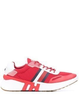 Tommy Hilfiger striped sneakers - Red