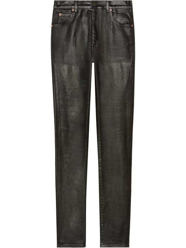 Gucci Denim skinny pant - Black