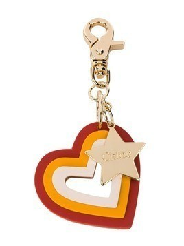 Chloé Kids heart and star keyring - Gold
