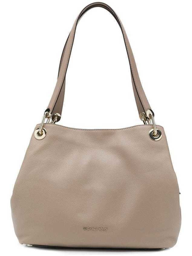 Michael Michael Kors Raven large shoulder bag NEUTRALS Na ramię