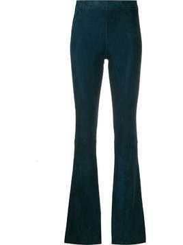 Drome flared style trousers - Blue