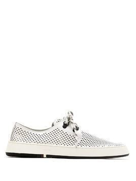 Osklen perforated Soho sneakers - White