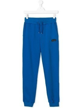 Ai Riders On The Storm Kids TEEN logo jogging trousers - Blue
