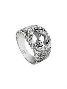 Gucci Interlocking G ring - Silver