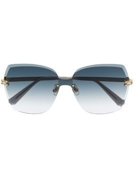 Bolon oversized sunglasses - Gold
