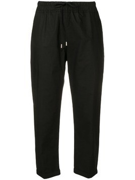 Gentry Portofino slim fit cropped trousers - Black