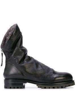 Chuckies New York Exclusive Halmanera X Chuckies NY Manon boots - Black