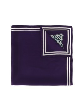Dsquared2 scout badge scarf - Pink&Purple