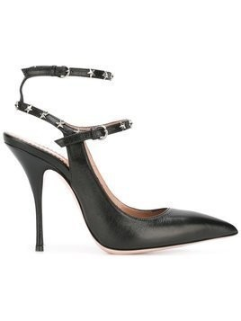 Red Valentino - star studded pumps - Damen - Calf Leather/Leather - 40 - Black