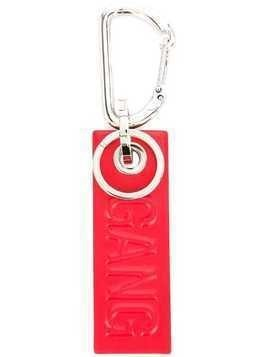 Neil Barrett Gang keyring - Red