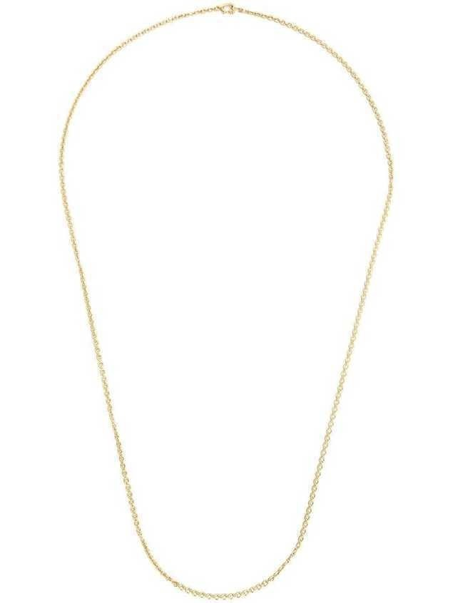 Irene Neuwirth 18kt gold oval link chain necklace - Metallic