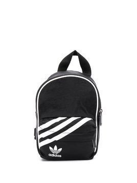 adidas small trefoil logo backpack - Black