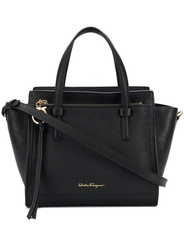 Salvatore Ferragamo Amy tote - Black