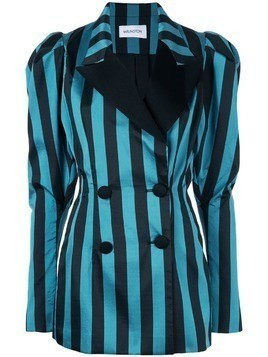 16Arlington structured blazer with stripes - Blue