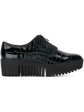 Opening Ceremony croc effect zip slippers - Blue