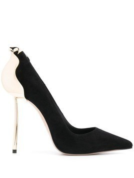 Le Silla pointed toe stiletto heels - Black