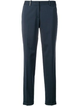 Fabiana Filippi high waisted pleated trousers - Blue