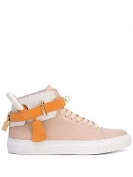 Buscemi high-top sneakers - ORANGE