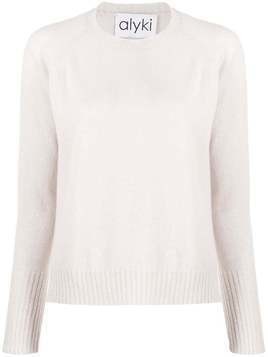 Alyki crew neck jumper - NEUTRALS
