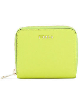 Furla zip around wallet - Green