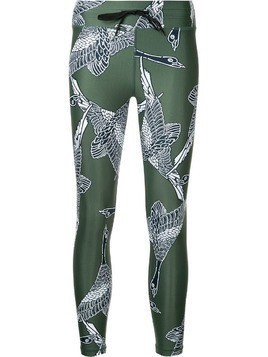 The Upside printed fitness leggings - Green