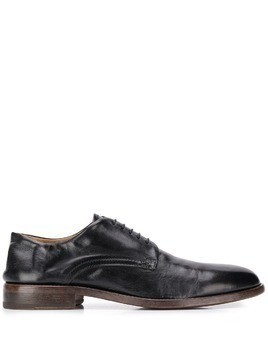 Moma distressed derby shoes - Black